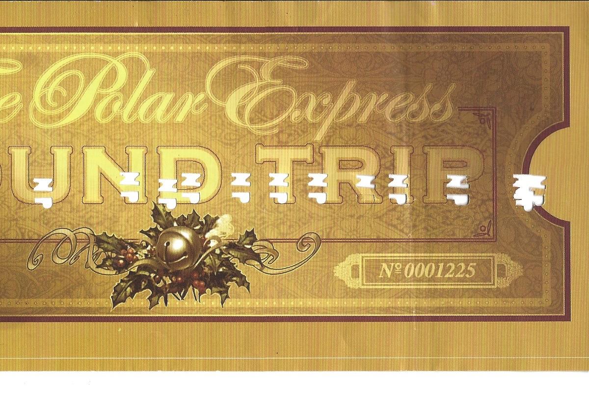 Polar Express Train Ticket Template | New Calendar Template Site